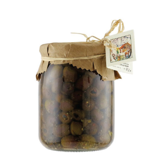 Olive Caiazzane Denocciolate in Olio Evo